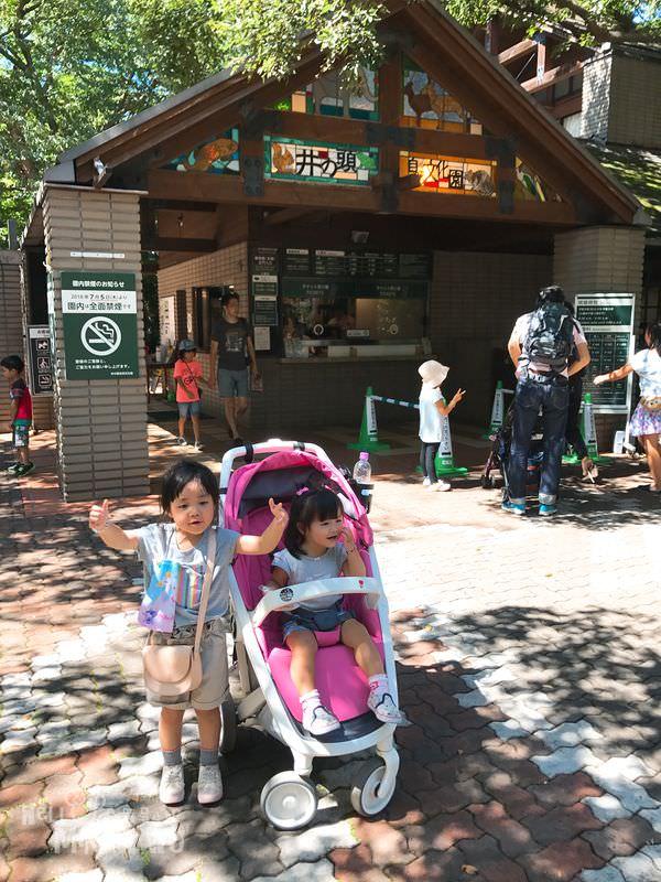 【東京親子景點】大推!!井之頭自然文化園,動物園+遊樂園+公園一次玩透透