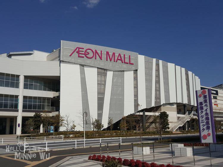 【東京購物景點】永旺夢樂城AEON MALL幕張新都心,逛不完的超大購物商場