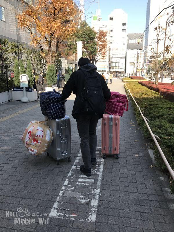 如何寄行李到東京機場~日本東京親子自由行