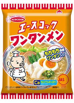 ワンタンメン,AceCOOK 餛飩麵