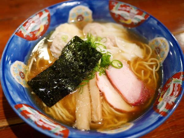 [東京拉麵推薦]支那そば 八雲,2016日本拉麵第4名,特製叉燒餛飩拉麵