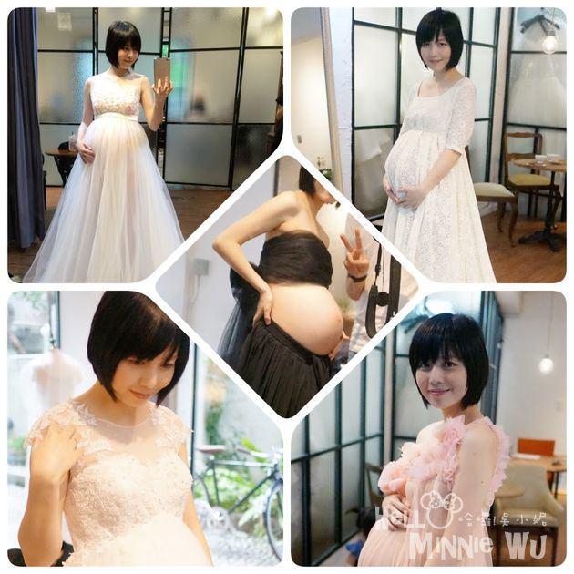[孕婦寫真] 試穿孕婦婚紗~芭蕾摩卡婚紗工作室 BalletMocha Wedding 手工訂製/設計師品牌婚紗