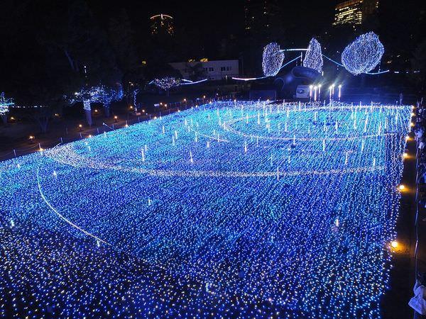 六本木東京中城Tokyo MidTown聖誕燈飾~東京聖誕節燈飾2016