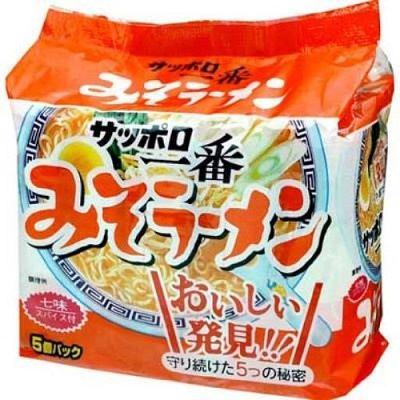サッポロ一番 みそラーメン,三洋札幌一番 味噌口味