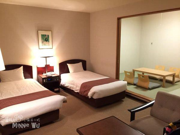 馬羅德飯店雙人和洋式房型<
