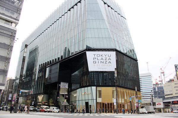 東急Plaza銀座(東急プラザ銀座),東京銀座新地標,東京景點2016