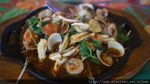 小島泰國菜鐵板辣炒海鮮