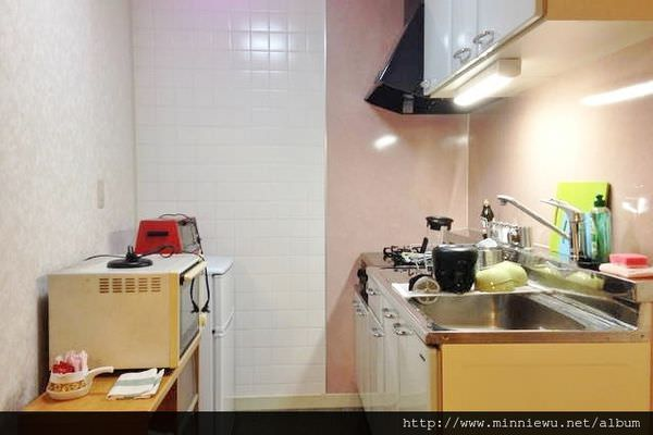 airbnb日本東京民宿廚房
