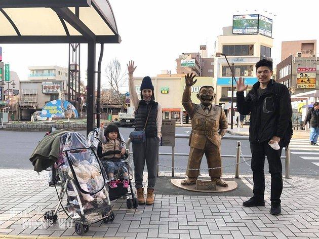 【東京親子景點】一起來龜有公園烏龍派出所找兩津勘吉吧