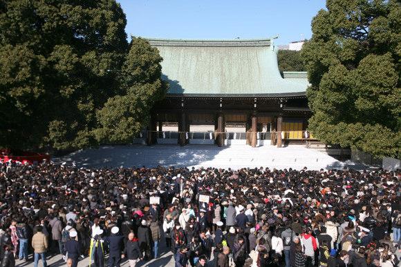 2018~2019東京新年參拜(新年初詣),東京新年活動景點