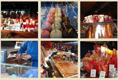 橫濱聖誕市集美食